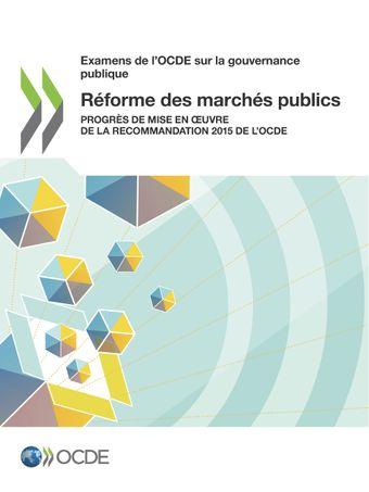 Réforme des marchés publics
